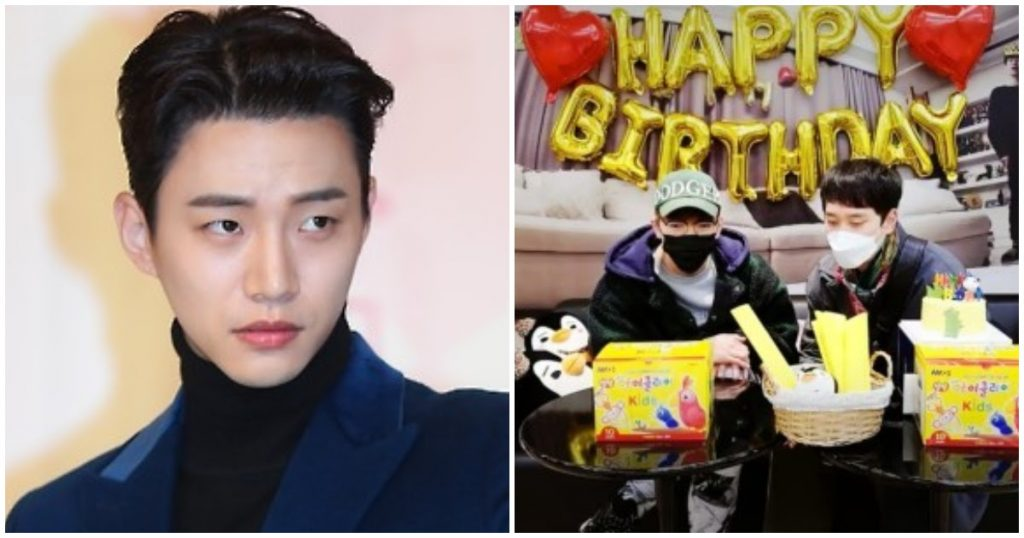 2PM's Jun. K And Chansung Celebrate Junho's Birthday —Without Junho