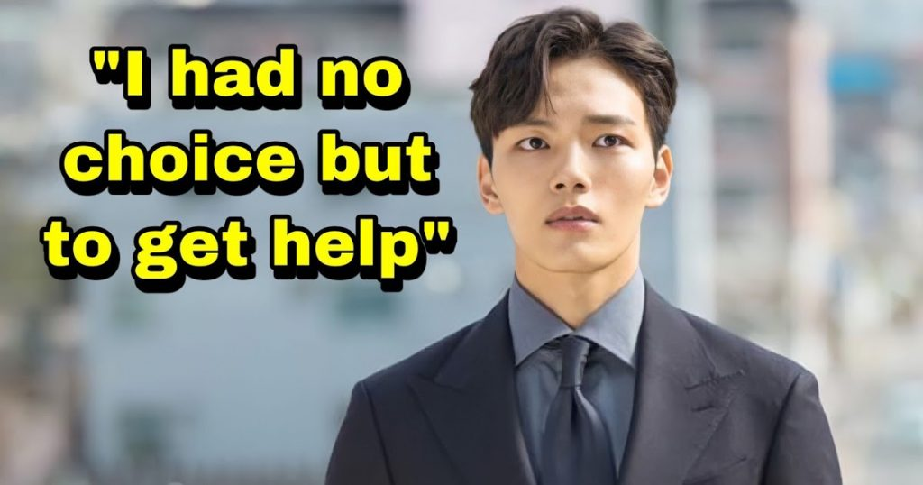 Actor Yeo Jin Goo Reveals He Was Once In a Slump Because Of Acting