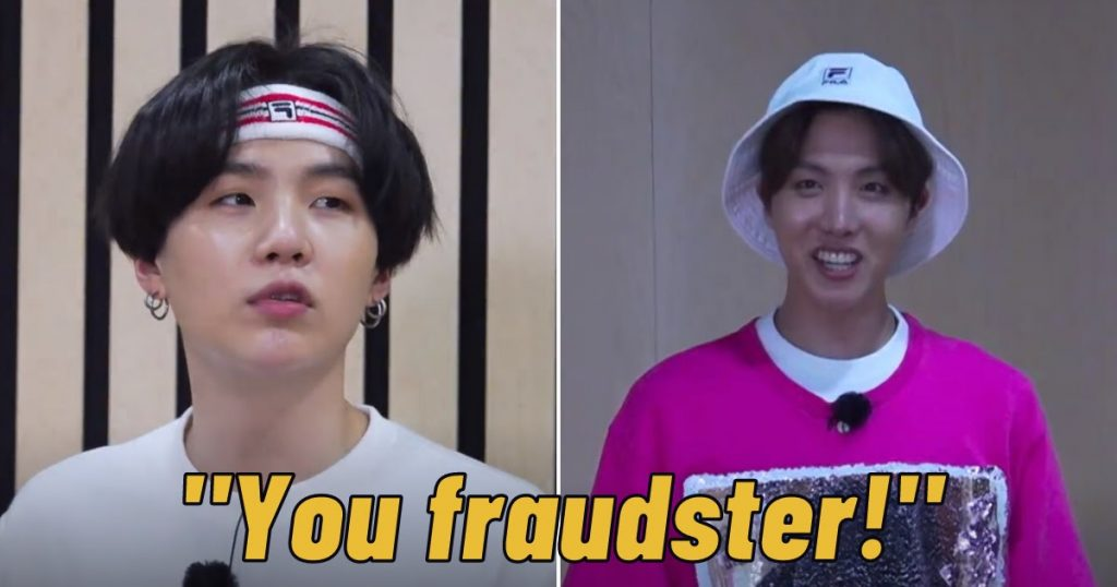 BTS's Suga Didn't Hesitate To Call J-Hope A Fraudster When He Stole His Place In A Game
