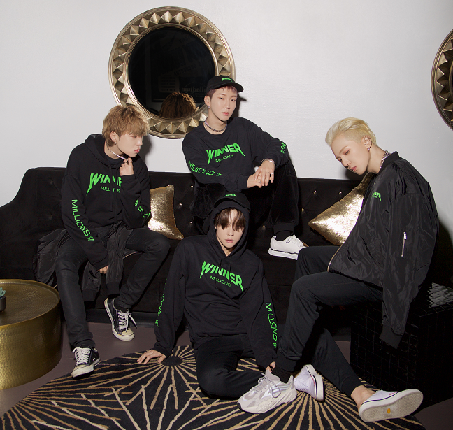 K-Pop Boy Group WINNER Collaborates with REPRESENT for Limited Edition Line