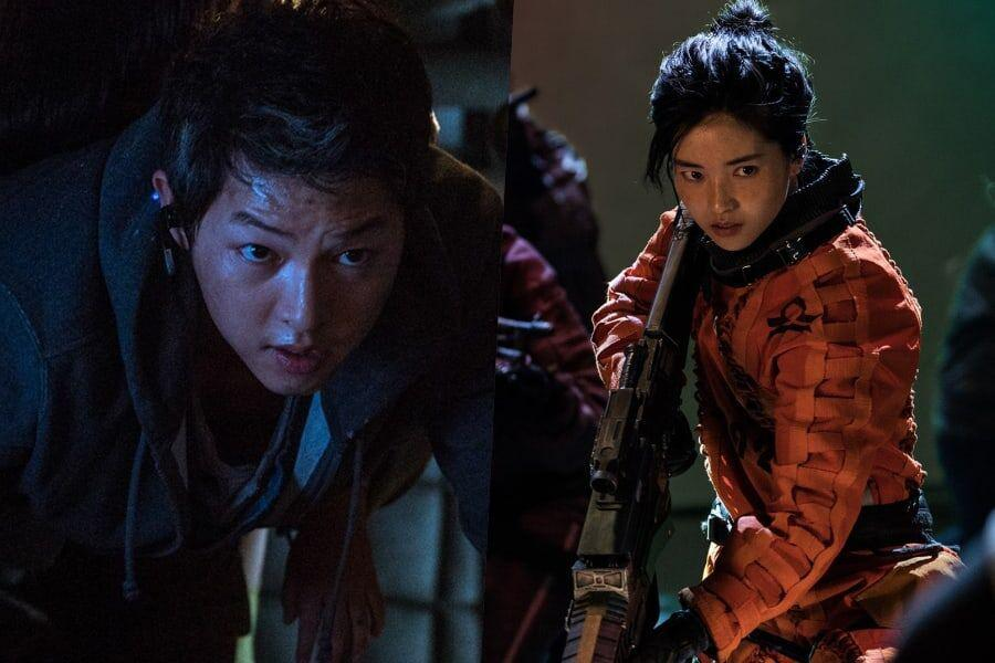 "Song Joong Ki, Kim Tae Ri, And More Face Adventure In The Intriguing Universe Of ""Space Sweepers"""