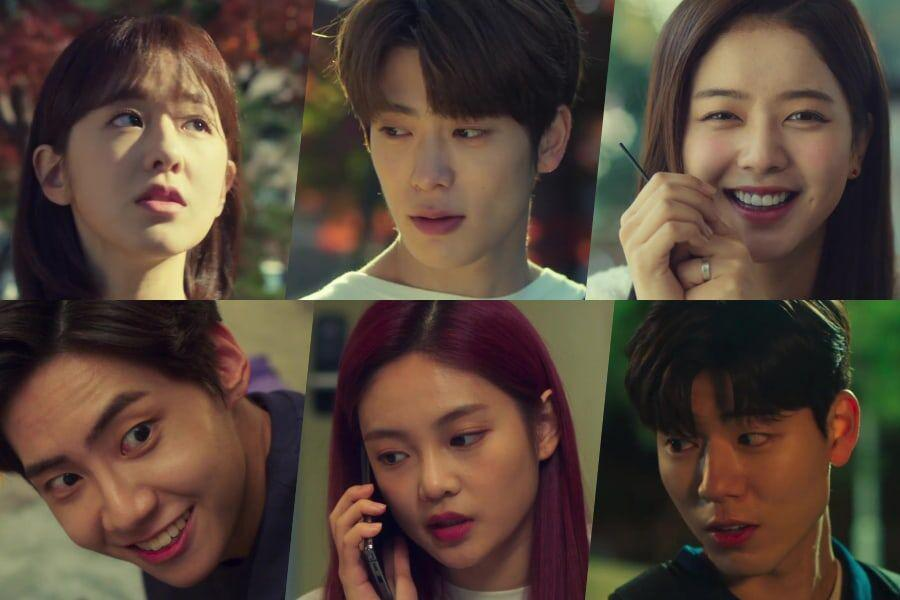 """Watch: Park Hye Soo, NCT's Jaehyun, Noh Jung Ui, And More Are Charming College Students In """"Dear.M"""" Teaser"""