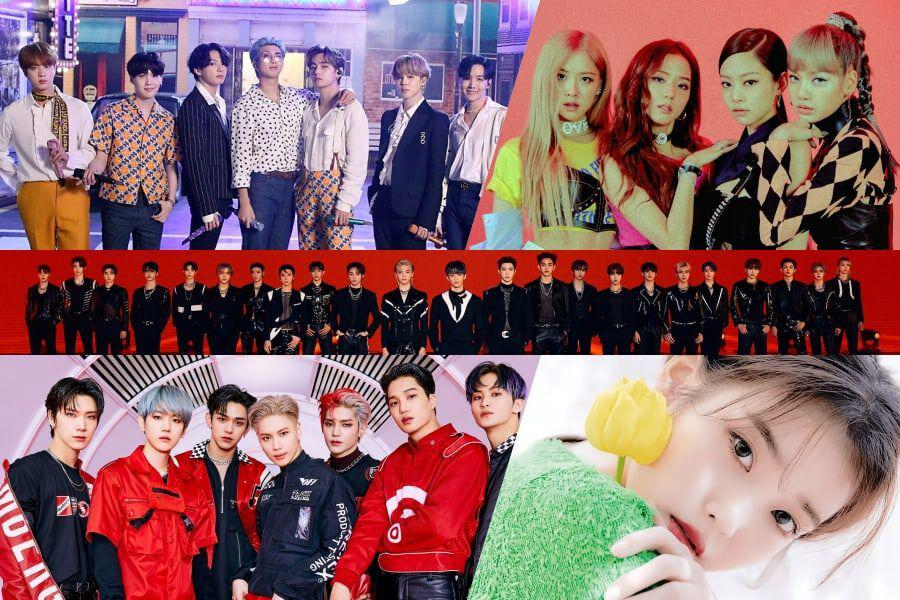 BTS, BLACKPINK, NCT, SuperM, And IU Rank High On Billboard's World Albums Chart