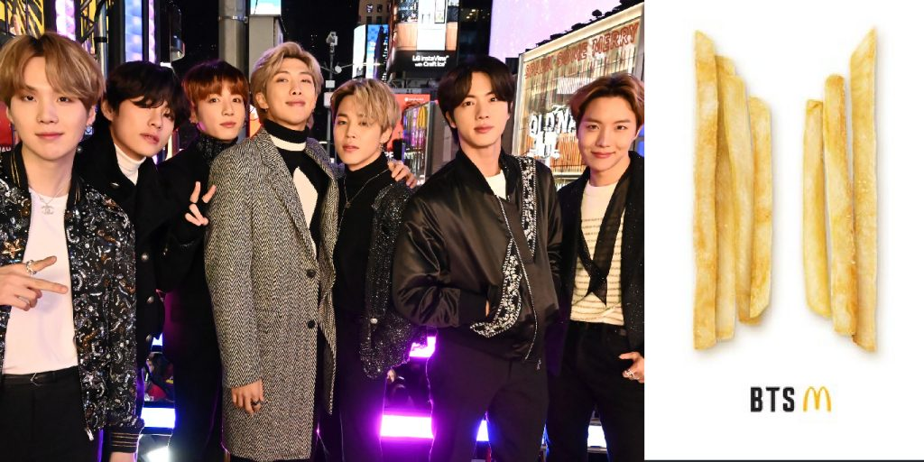 McDonald's Collaborates with BTS to Launch a 'BTS Meal'