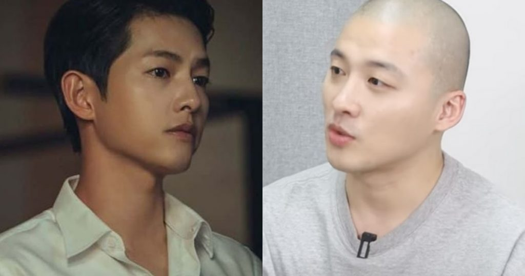 "Song Joong Ki Helped Fellow ""Vincenzo"" Actor Get Home After Drinking Too Much...At Their First Meeting"