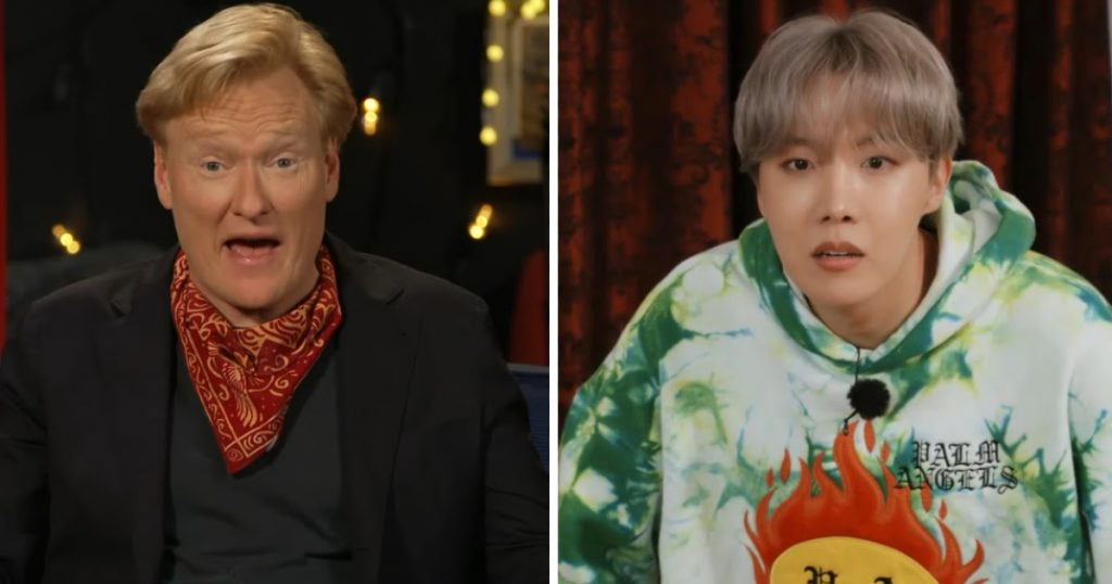 "American Talk Show Host Conan Reacts To His Appearance On The Latest Episode Of BTS's ""Run BTS!"""