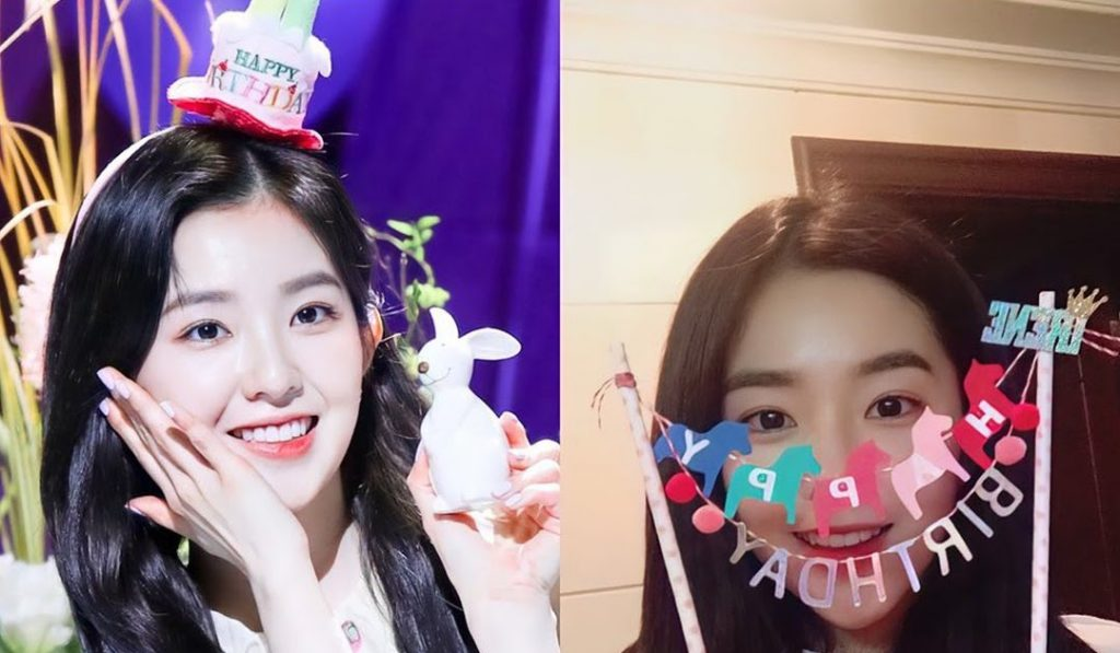Irene's Chinese fans celebrate her birthday with a luxury gift list ~ Netizen Buzz