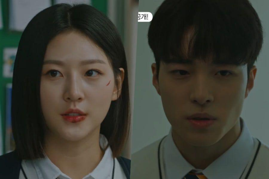 """Watch: Kim Sae Ron And Nam Da Reum Question The Truth Behind A Chilling Case In Teaser For """"The Great Shaman Ga Doo Shim"""""""