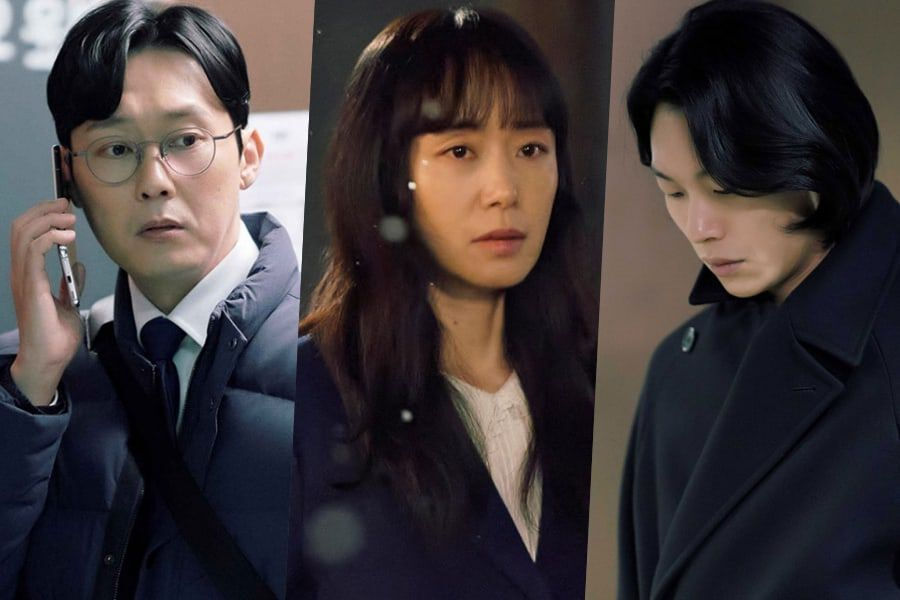 """Park Byung Eun Realizes Something Is Off About His Wife Jeon Do Yeon In """"Lost"""""""