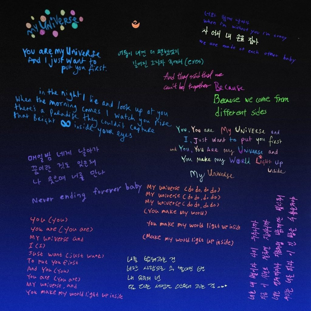 What Korean netizens say about Coldplay X BTS 'My Universe' – Knetizen