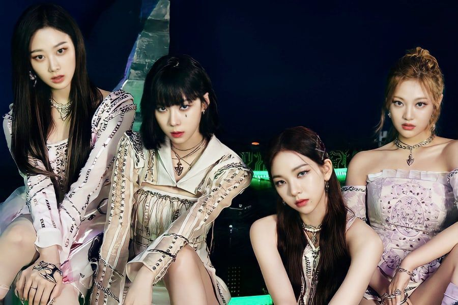 """aespa's """"Savage"""" Becomes 1st Girl Group Song Released In 2021 To Achieve Perfect All-Kill"""
